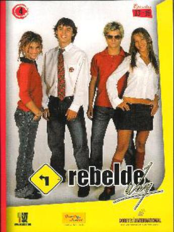 REBELDE WAY CAP 13-16