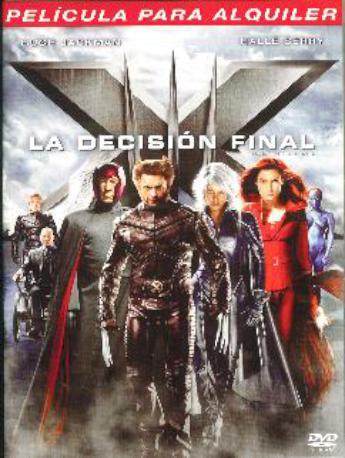 X MEN LA DECISION FINAL L