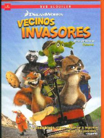 VECINOS INVASORES DVDL