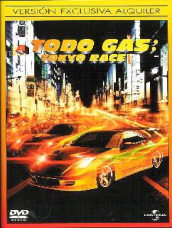 A TODO GAS TOKYO RACE DVL