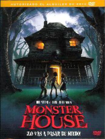 MONSTER HOUSE DVD LLOGUER