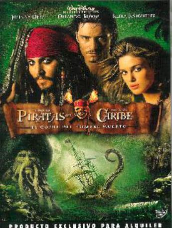 PIRATAS DEL CARIBE EL COF DVD