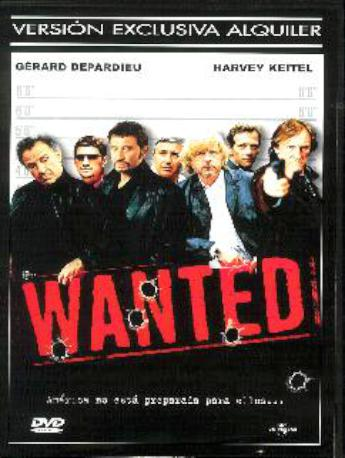 WANTED DVDL