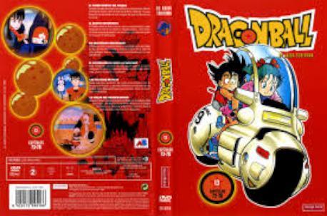 DRAGON BALL 13 MANGA DVD
