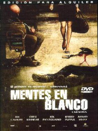 MENTES EN BLANCO DVDL
