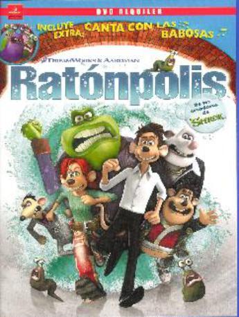 RATONPOLIS DVD